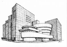 Frank lloyd wright scetches