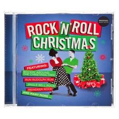 Rock & Roll Christmas classics performed by Chuck Berry, The Drifters, Brenda Lee and many more featuring Rockin' Around the Christmas Tree, Jingle Bell Rock, Rockin' Robin and many more