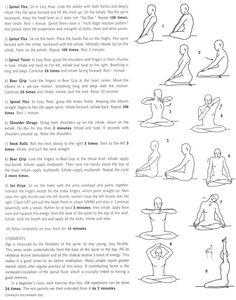 Kundalini yoga - another interesting take on yoga.