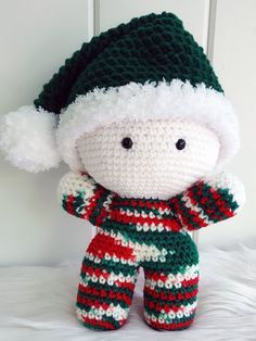 Christmas Elf Big Head Baby Doll BHBD Elf by NorthEastBaby on Etsy