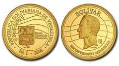 Moneda de Oro Conmemorativa de la Reconversión Monetaria