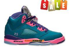 competitive price d8b22 c4ba0 Air Jordan V(5) Retro GS 2013 - Chaussure Nike Air Jordan Pas Cher Pour…