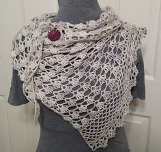 May Queen Shawl Crochet Pattern by BadAtCounting on Etsy