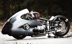 Although a drag bike, this would make a cool street bike.