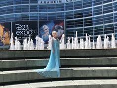 Queen Elsa, Halloween Decorations, Fair Grounds, Cosplay, Costumes, Disney, Fun, Photos, Pictures