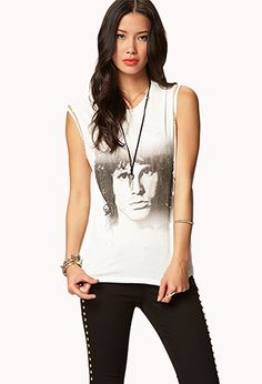 Chained Jim Morrison® Muscle Tee | FOREVER 21 - 2051169053