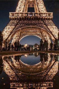 Tour Eiffel, Torre Eiffel Paris, Paris Photography, Travel Photography, Paris France, Places Around The World, Around The Worlds, Paris Wallpaper, Belle Villa