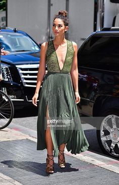 Lily Aldridge seen on the streets of Manhattan on July 26, 2016 in New York City.