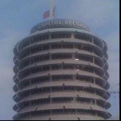 Los Angeles, CA.  Capitol Records Headquarters.