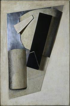Jean Pougny Composition Reconstruction d'un assemblage de 1915 d'après un dessin de 1915-1916