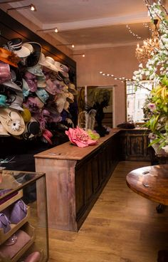 Hat Shop #Millinery #Hats #Fashion