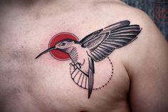 Hummingbird Tattoo by David Hale