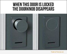 But.. how do I get out?!<< unlock the door!