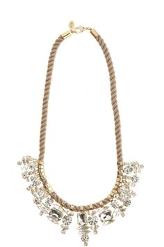 Crystal Collar Necklace :: NECKLACES :: JEWELRY :: ACCESSORIES :: Calypso St. Barth
