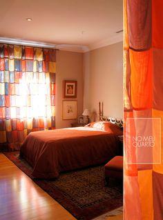 A cozy bedroom.