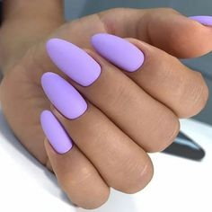 In look for some nail designs and ideas for your nails? Here's our list of must-try coffin acrylic nails for fashionable women. Purple Acrylic Nails, Mauve Nails, Almond Acrylic Nails, Best Acrylic Nails, Purple Nails, Edgy Nails, Grunge Nails, Stylish Nails, Swag Nails