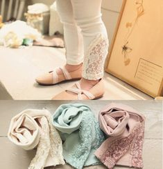 New Kids Toddlers Girls Lovely Cotton Lace AGE2 7Y Leggings Pants Trousers | eBay