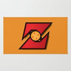 Dragonball Z Logo Area & Throw Rug