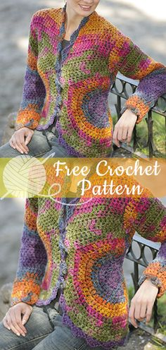 Crochet Patterns Diagram Free Knitting 54 Ideas For 2019 Black Crochet Dress, Crochet Jacket, Crochet Cardigan, Crochet Shawl, Crochet Sweaters, Crochet Diy, Freeform Crochet, Crochet Woman, Crochet Tutorials