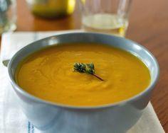 Butternut-Pear Soup Recipe