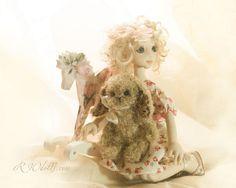 Iliana, art doll, ooak (rwdolls.com) Art Dolls, Elsa, Disney Characters, Fictional Characters, Textiles, Romantic, Disney Princess, Gallery, Handmade