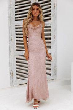 4c2aa7ab306a DEAR EMILIA Fame Seeker Maxi Dress Bronze #maxidressessummer White Maxi  Dresses, Floral Maxi Dress