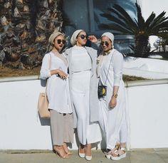 Hijab + Cohesive + White on White (sally.omo)
