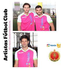 Artistas Fútbol Club #FútbolConSentidoSocial Teleton 2015
