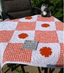Marjorie's Busy Corner: Quilt featuring Riley Blake Gingham #rileyblakedesigns #gingham
