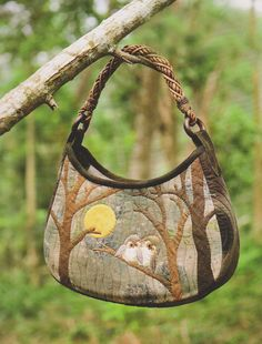 Oh, I do like this pattern!  Owl Shoulder tote Bag Handbag Purse flower Pdf by dickdocker on Etsy, $6.00