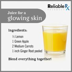 Prepare this #healthy juice at home for a beautiful and glowing skin.
