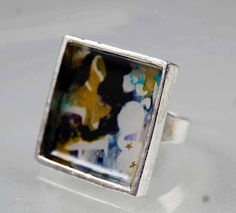 resin ring tutorial | Little Birdie Secrets