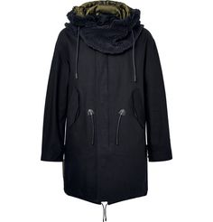 Shop men's coats and jackets at MR PORTER, the men's style destination. Discover our selection of over 400 designers to find your perfect look. Designer Menswear, Coach Men, Hooded Parka, Sweaters And Jeans, Men's Coats And Jackets, Hoods, Black Leather, Man Shop, Cotton