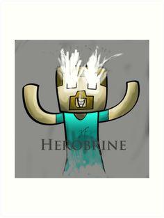 Minecraft Herobrine :)