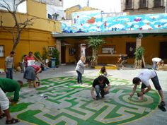 Contribuye a mejorar el entorno de dos colegios públicos en Sevilla - Archkids. Arquitectura para niños. Architecture for kids. Architecture for children.