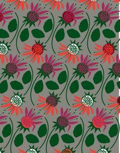 Herbarium by Caz Hildebrand - Bergamot Organic Patterns, Health And Wellbeing, Bergamot, New Books, Remedies, Healing, Herbs, Canning, Illustration