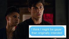 shadowhunters + gay text posts (1/?) bonus: