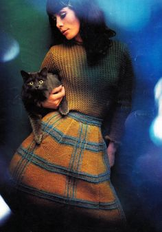 the60sbazaar: Sixties knitwear I just love this.