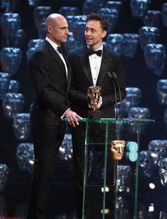 Tom Hiddleston at the 2015 #EEBAFTAs. Via Torrilla.tumblr.com