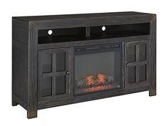 Gavelston Fireplace #steinhafels