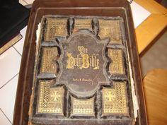 Beautiful old bible