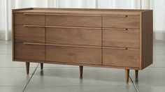 Tate 9-Drawer Dresser | Crate and Barrel