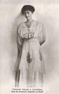 Crown Princess Antonia of Bavaria, nee Princess of Luxembourg