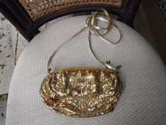 Gold Mesh evening bag Whiting and Davis Co. by MilliesAttique on Etsy