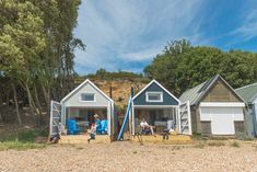 Luxury Beach Huts — Cadland Estate