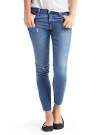 Jeans are a classic because you can pair with a variety of shoes, etc.