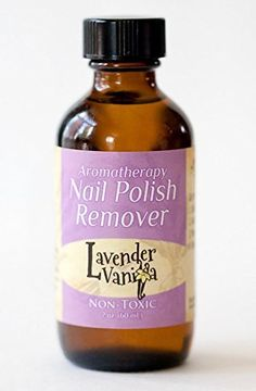 Non toxic Aromatherapy Nail Polish Remover LV Natural NonAcetone Biodegradable CrueltyGluten Free Vegan Vitamin E  essential oils nourish strengthenhydrate cuticles safe around kids pets ** For more information, visit image link.