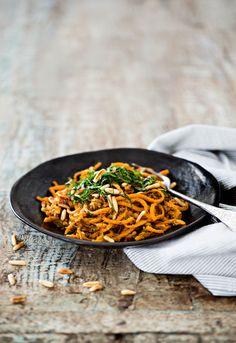 Porkkanapasta   K-Ruoka #vegaaninen