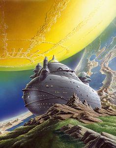 70s Sci-Fi Art: Alfred Kelsner