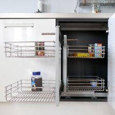 1000 images about petite cuisine astuces et id es d 39 am nagement on pinterest petite cuisine - Petite cuisine en angle ...